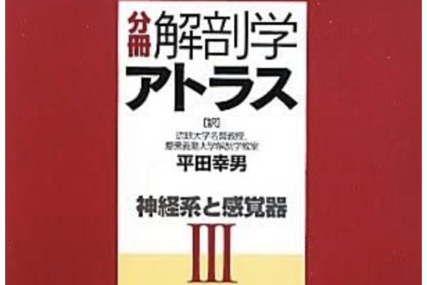 """""""分冊 解剖学アトラスⅢ 神経系と感覚器""""の感想"""