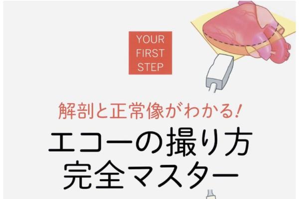 """""""解剖と正常像がわかる!エコーの取り方完全マスター""""の感想"""