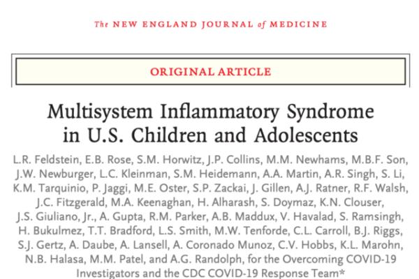 小児における多臓器炎症症候群(MIS-C)の特徴
