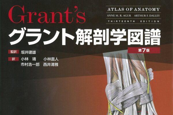 """""""グラント解剖学図譜""""の感想"""